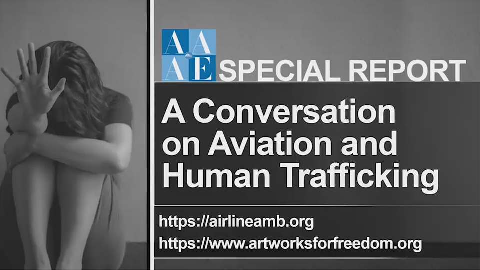A Conversation on Aviation and Human Trafficking