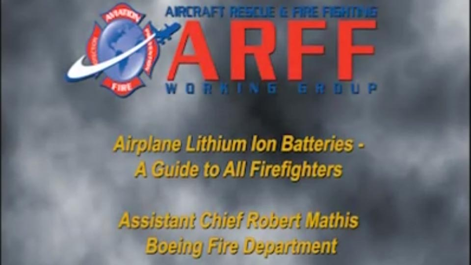 Aircraft Rescue & Fire Fighting